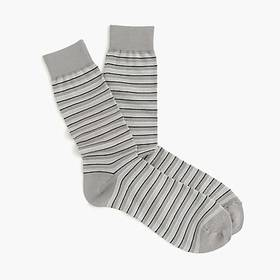J. Crew Striped dress socks