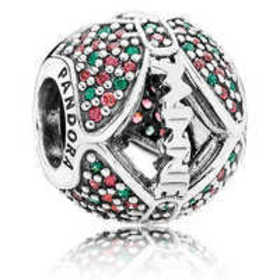 Disney Minnie Mouse Holiday Bow Charm by PANDORA