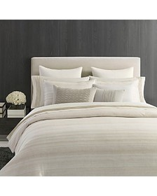 Vera Wang - Stripe Sateen Bedding Collection - 100