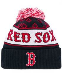 Marcelo Burlon County Of Milan red sox knitted hat
