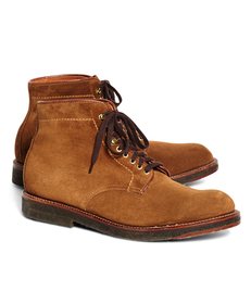 Brooks Brothers Suede Boots