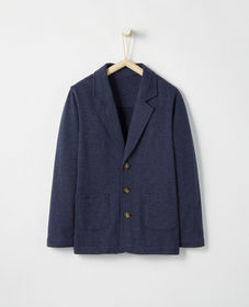 Hanna Andersson Dapper Blazer In French Terry
