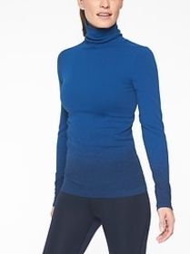 Flurry Base Layer Ombr&#233 Turtleneck