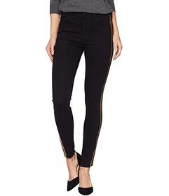 Sam Edelman Kitten Mid-Rise Ankle Skinny in Black\