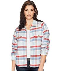Dylan by True Grit Big Sky Plaid Zip Jacket with S