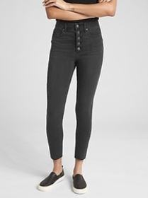 High Rise True Skinny Ankle Jeans in 360 Stretch