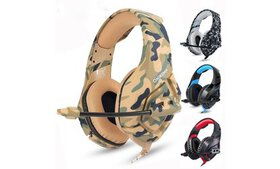 New K1 Stereo Bass Surround PC Gaming Headset with