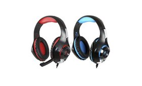 Gaming Headset GM-1 With Mic LED Light Earphone He
