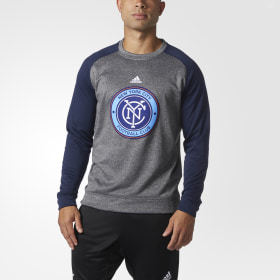 Adidas New York City FC Ultimate Crew Sweatshirt