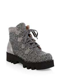 Tabitha Simmons Neir Hiking Booties GREY