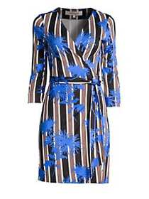 Diane von Furstenberg Julian Wrap Dress SHELFORD