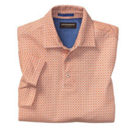 Johnston Murphy Print Polo