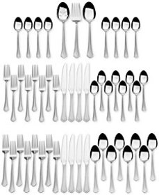 International Silver, Stainless Steel 51-Pc. Capri