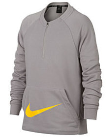 Nike Big Boys 1/2-Zip Training Crew-Neck Sweatshir