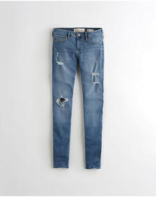 Hollister Classic Stretch Low-Rise Super Skinny Je