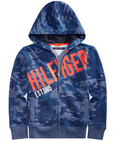 Tommy Hilfiger Toddler Boys Camo Graphic-Print Ful