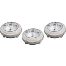 Wireless LED Puck Light with Auto On/Off Sensor, 3