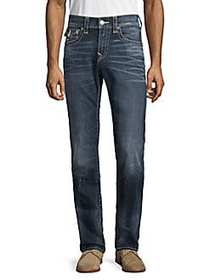 True Religion Rocco Faded Flap Pocket Jeans BLUE