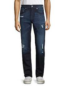 True Religion Skinny Distressed Jeans BLUE