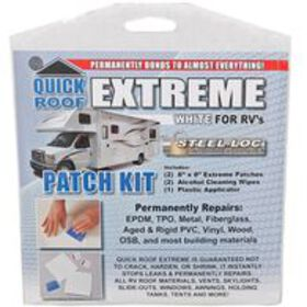 """Quick Roof Extreme Patch Kit, 8"""" x 8"""""""