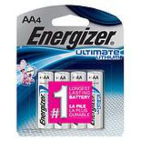 Energizer Ultimate Lithium Batteries AA