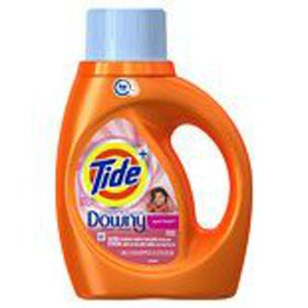 Tide Liquid Laundry Detergent Plus Downy April Fre