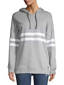 Marc New York Performance Striped Pullover Hoodie