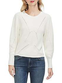 Vince Camuto Sunrise Bay Knit Sweater ANTIQUE WHIT