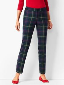 Talbots Plaid Talbots Hampshire Ankle Pants
