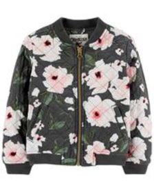 Osh Kosh Kid GirlFloral Bomber Jacket
