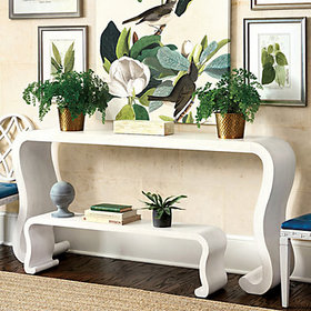 Miles Redd Waterfall Console Table