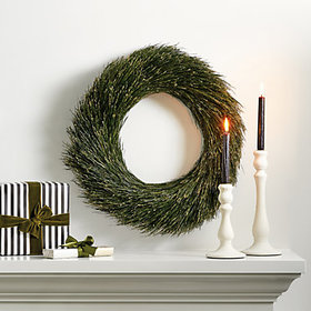 Pine Needle Christmas Wreath holiday decorating di