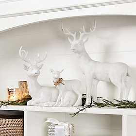 Mini Montresor Christmas Deer Set holiday decorati