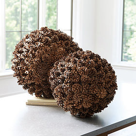 Preserved Pine Cone Planter Filler holiday decorat