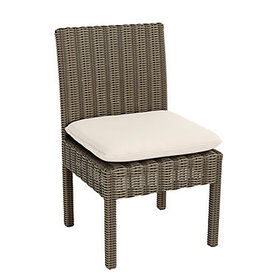 Sutton Outdoor Dining Side Chairs with Cushions -