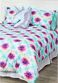 Justice Tie Dye 7-Piece Bed in a Bag - Queen Size