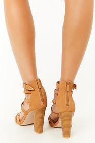 Forever21 Strappy Block Heels