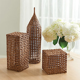 Woven Architectural Models - Set of 3