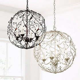 Melissa 4-Light Orb Chandelier