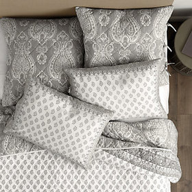 Senna Paisley Print Quilted Bedding