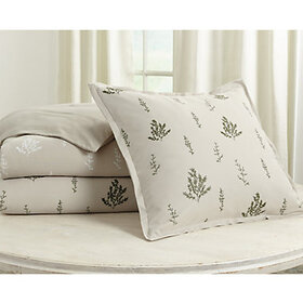 Botanical Embroidered Bedding