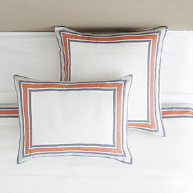 Saunders Striped Border Bedding