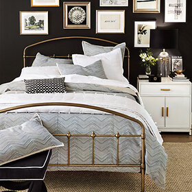 Monoghan Pencil Herringbone Bedding