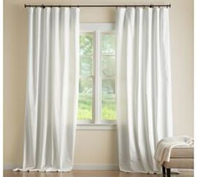 Pottery Barn Cameron Cotton Pole-Pocket Curtain