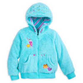 Disney Vanellope von Schweetz Fleece Hoodie for Ki