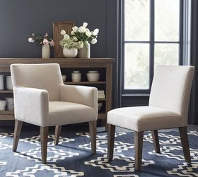 Pottery Barn PB Classic Square Upholstered Dining