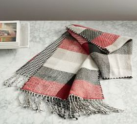Pottery Barn Whittaker Reversible Plaid Scarf