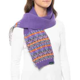 Woolrich Fair Isle Pattern Scarf (For Women) in Wi