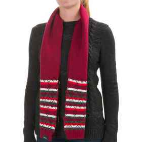 Woolrich Fair Isle Scarf (For Women) in Scarlet -