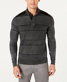 I.N.C. Men's Mineral Striped Sweater, Created for